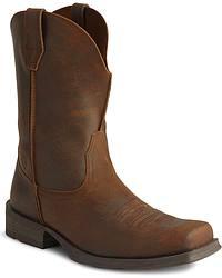 Ariat Distressed Rambler Cowboy Boots
