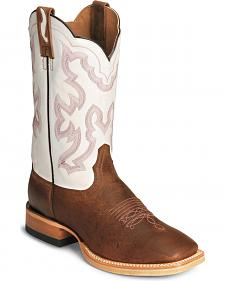 Ariat Nitro U-Turn Cowboy Boots - Leather Sole/Square Toe