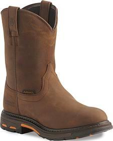 Ariat H2O Workhog Western Work Boots - Soft Toe