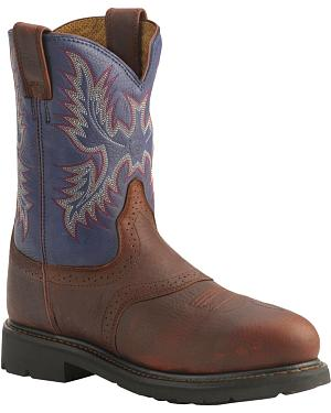 Ariat Sierra Western Work Boots - Steel Toe