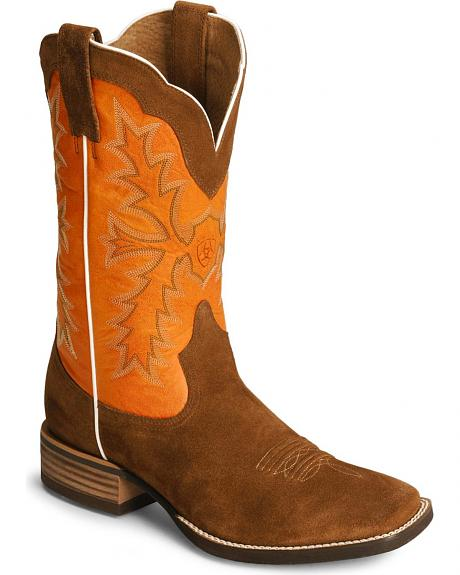 Ariat Sweetwater Cowboy Boots - Evolution Sole/Square Toe