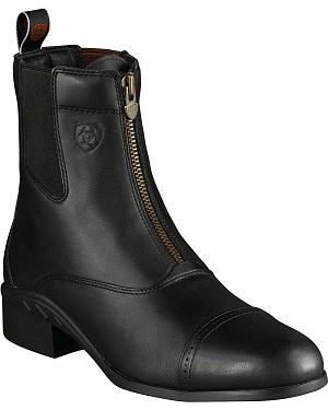 Ariat Heritage Zipper Boots - Round Toe