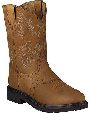 Ariat Sierra Saddle Western Work Boots