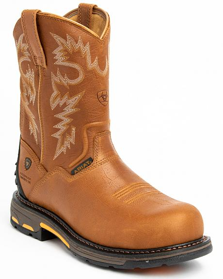 Ariat H20 Workhog Western Work Boots - Composition Toe