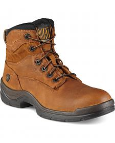 "Ariat Flex Pro 6"" Lace-Up Work Boots - Round Toe"
