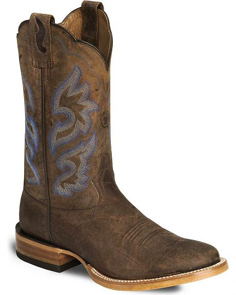 Ariat Brown Cyclone Cowboy Boot - Round Toe