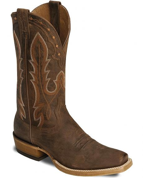 Ariat Brown Hotwire Cowboy Boot - Square Toe