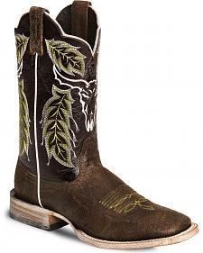 Ariat Outlaw Cowboy Boots - Square Toe