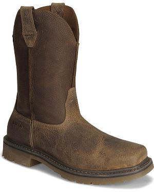 Ariat Earth Rambler Pull-On Work Boots - Steel Toe