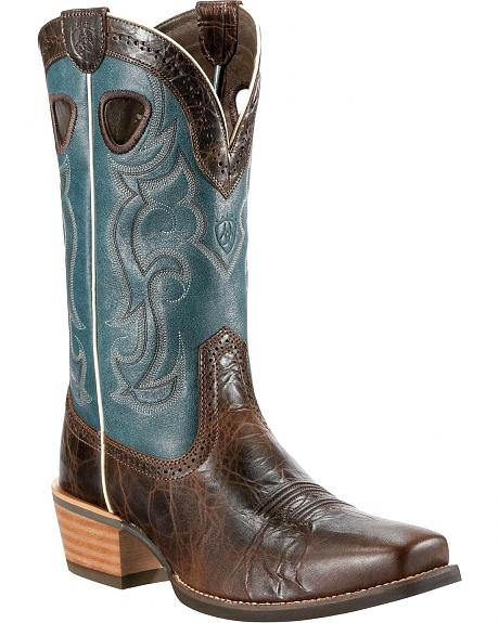 Ariat Rawhide Cowboy Boot - Square Toe