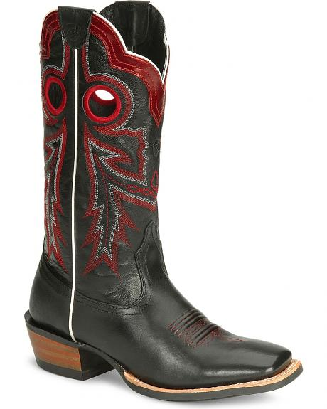Ariat Wildstock Midnight Boot - Square Toe