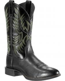 Ariat Men's Stockman Cowboy Boots - Round Toe