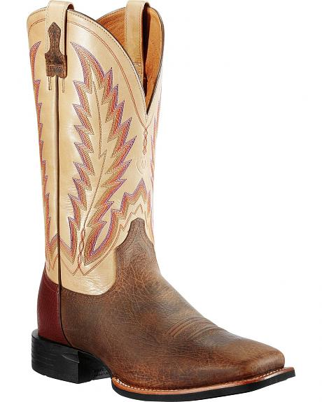 Ariat Earth Boots - Wide Square Toe