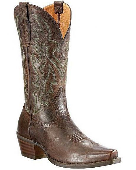 Ariat Heritage Cowboy Boots - Snip Toe