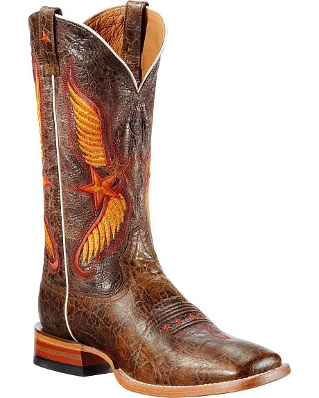 Ariat Crazy Star Cowboy Boots - Square Toe
