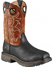 Ariat Workhog Boots - Steel Toe