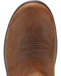 Ariat FlexPro Western Pull-On Work Boots - Round at Sheplers