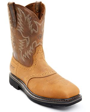 Ariat Sierra Saddle Work Boots - Steel Toe