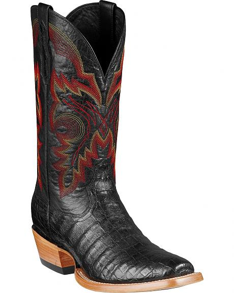 Ariat Hotwire Caiman Belly Cowboy Boots - Square Toe