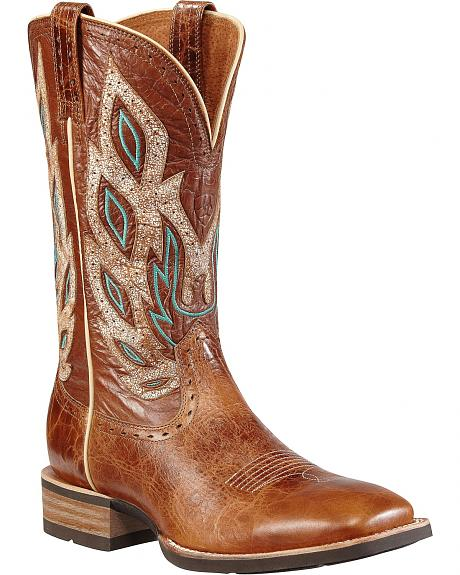 Ariat Nighthawk Western Cowboy Boots - Square Toe