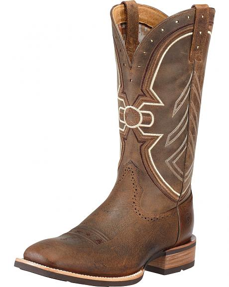 Ariat Freedom Cowboy Boots -- Square Toe