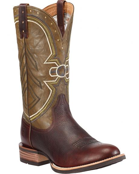Ariat Freedom Cowboy Boots - Round Toe
