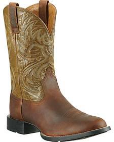 Ariat Heritage Horseman Stockman Boots - Round Toe