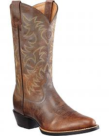 Ariat Heritage Western Cowboy Boots -  Medium Toe