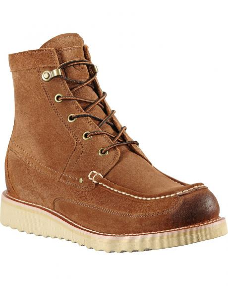 Ariat Buckshot Lace-Up Work Boots - Round Toe