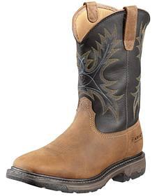 Ariat Workhog Waterproof Work Boots - Steel Toe