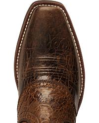 Ariat Heritage Roughstock Saddle Boots - Wide Square Toe at Sheplers