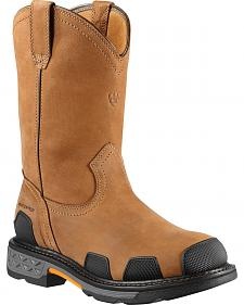 Ariat Overdrive Waterproof Pull-On Work Boots - Composite Toe