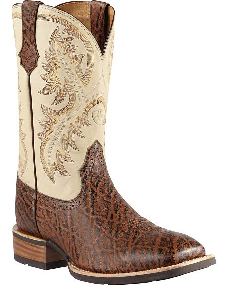 Ariat Quickdraw Cowboy Boots - Square Toe