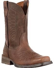 Ariat Rambler Phoenix Cowboy Boots - Square Toe