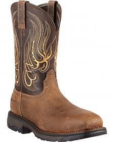 Ariat Workhog Mesteno Work Boots - Composite Toe