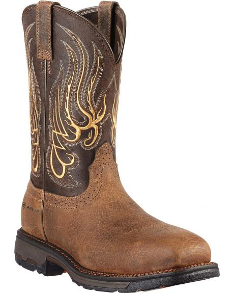 Ariat Workhog Mesteno Work Boots - Composite Toe