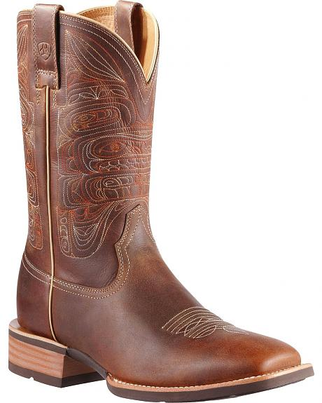 Ariat Totem Cowboy Boots - Square Toe