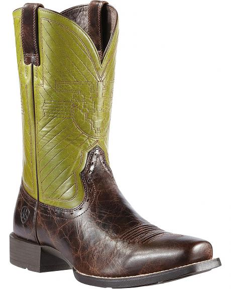 Ariat Warbird Cowboy Boots - Square Toe