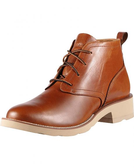 Ariat Backlash Lace-Up Casual Boots - Round Toe
