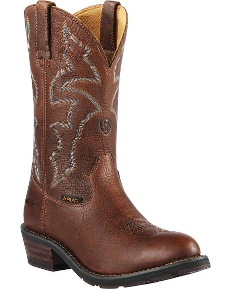 Ariat Ironside H2O Waterproof Work Boots - Round Toe