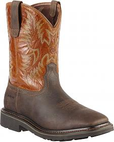 Ariat Sierra Work Boots - Square Toe