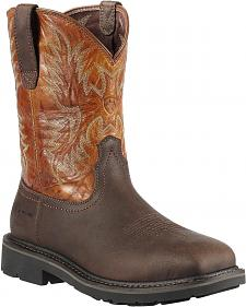 Ariat Sierra Work Boots - Steel Toe
