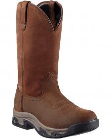Ariat Terrain H2O Pull-On Boots - Round Toe