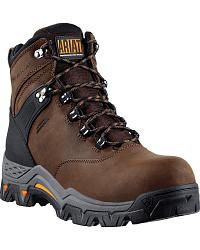 Ariat WorkHog Trek H2O Lace-Up Work Boots - Comp Toe at Sheplers