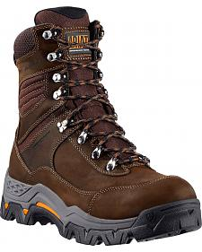 "Ariat WorkHog Trek 8"" Lace-Up Work Boots - Round Toe"