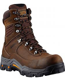 "Ariat WorkHog Trek 8"" Lace-Up Work Boots - Comp Toe"