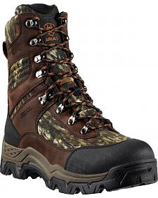 "Ariat Tracker H2O Insulated Camo 8"" Lace-Up Hunting Boots - Round Toe"