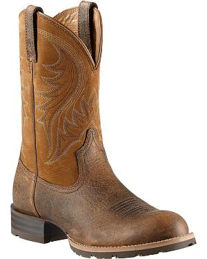 Ariat Hybrid Rancher Cowboy Boots - Round Toe