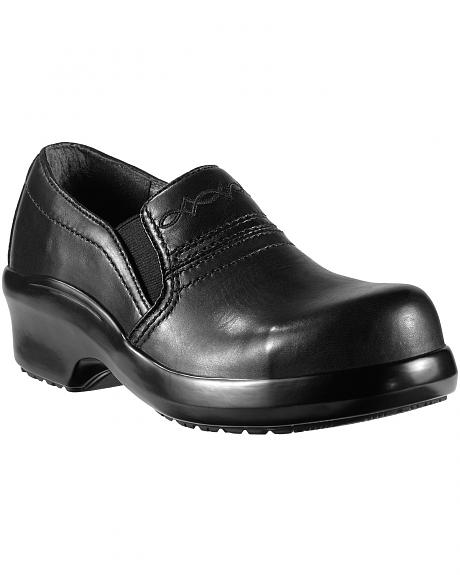 Ariat Expert Safety Clog Slip-On Shoes - Composition Toe