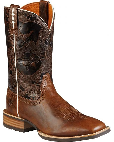 Ariat Hot Iron Cowboy Boots - Square Toe